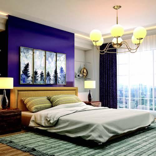 7 tips cho phòng ngủ đẹp mang đến một không gian sống tràn đầy hứng khởi