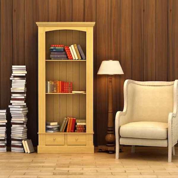Góc đọc sách cũng thể hiện được phong cách, cá tính của chủ nhân