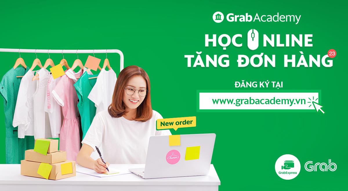 Học trực tuyến về tiếp thị số cùng Grabacademy